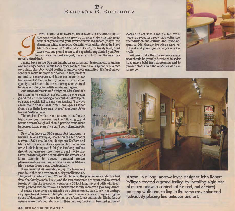 1993 April 4th - CHICAGO TRIBUNE MAGAZINE HOME DESIGN - Room with a Coup_Page_2
