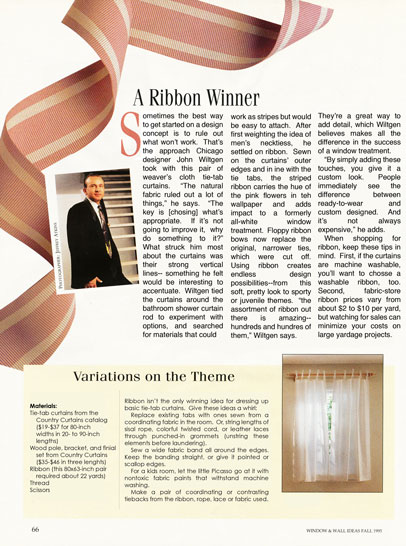 Fall 1995 - A Ribbon Winner  Better Homes and Gardens