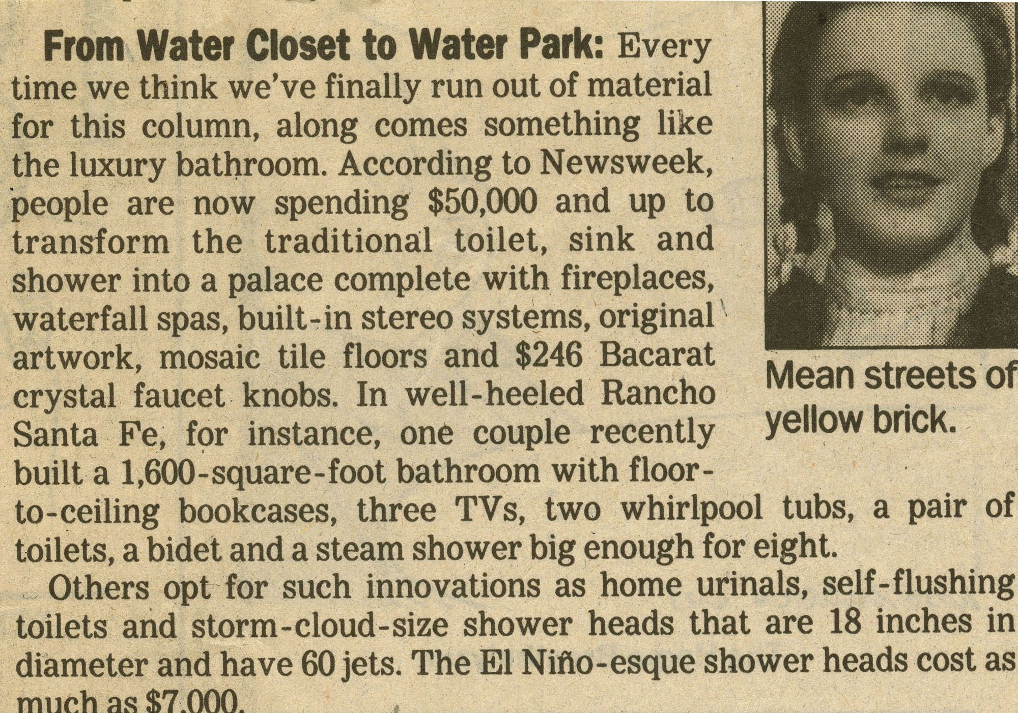 june1998- From Water Closet to Water Park