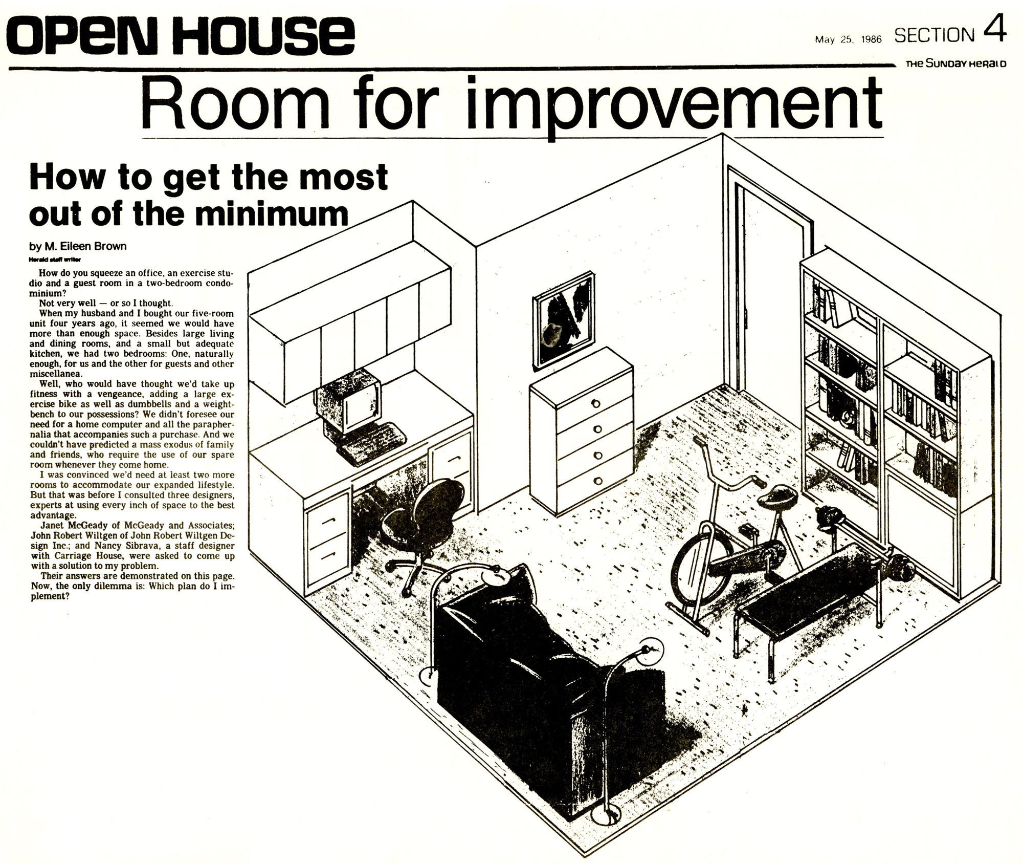 may25,1986 sunday herald- Room for Improvement