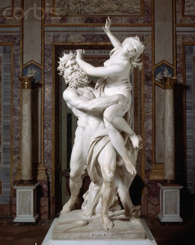 Gian Lorenzo Bernini's The Rape of Proserpina - High End Interior Design