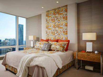 Residential interior design Chicago IL wins award at Trump Tower condo - Chicago Interior Design
